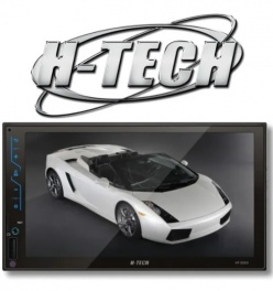 Central Multimídia H-Tech MP5 2 Din HT-3020 tela 7 polegadas - Bluetooth e Espelhamento Android e IOS