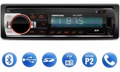 Aparelho Radio Mp3 Player Automotivo Hurricane Hr-425 Bt Bluetooth Usb Sd