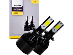Kit Lâmpada Super Led Cyber 36W H7 Tarponn