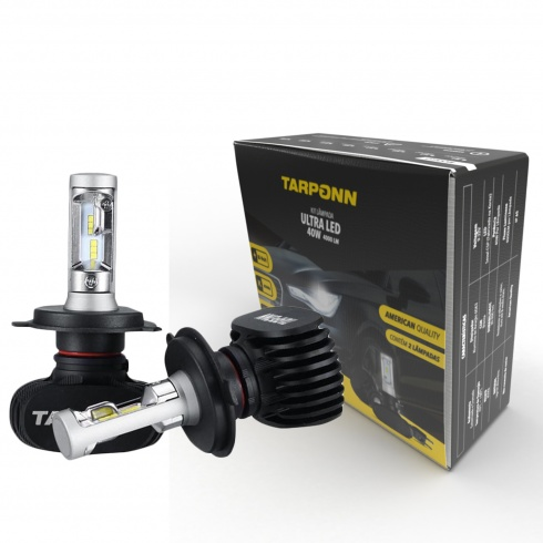 Kit Lâmpada Ultra Led H1 40w Tarponn - foto 2