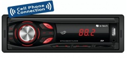 Aparelho Radio Mp3 Automotivo E-tech Light  Usb Auxr Sd Card