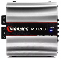 Módulo Amplificador Taramps MD 1200.1 1200W RMS 1 Canal 2 Ohms Classe D