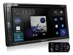 Central Multimídia Pioneer 2 Din AVH-z5280tv 7 Pol 2din Bluetooth Weblink Tv