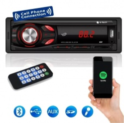 Radio Automotivo Light Com Bluetooth E-Tech - 4x25w