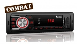 Aparelho Radio Mp3 Player E-tech Combat Usb Sd Aux New