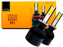Lâmpada Super Led Tech One H1 8000k Code