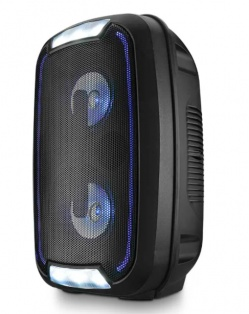 Caixa De Som Multilaser Party Speaker Neon Double 4 Polegadas 200w Bluetooth