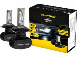 Kit Lâmpada Ultra Led H4 40w Tarponn