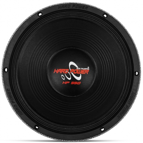 Alto Falante Woofer Hard Power HP550 12 Polegadas 550W RMS 8 Ohms